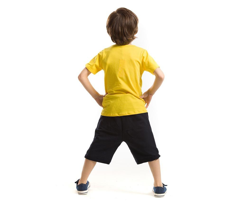 Otroški komplet - majica s kratkimi rokavi in kratke hlače Lake Monster 3 years
