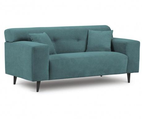 Canapea 2 locuri Samba Turquoise