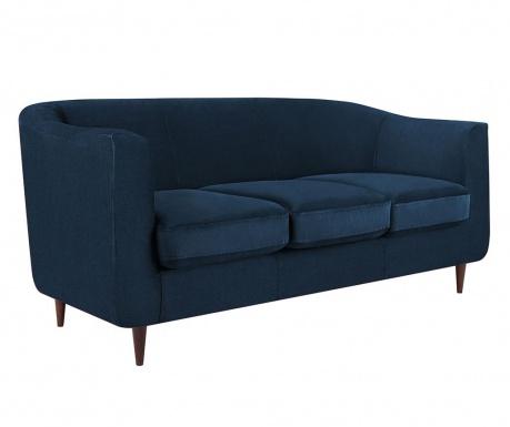 Canapea 3 locuri Glam Blue