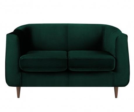 Canapea 2 locuri Glam Bottle Green