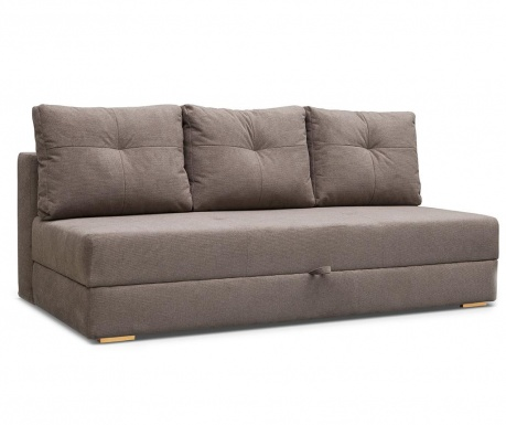 Dafne  Cappuccino Háromszemélyes kihúzható kanapé