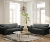 Ivy Anthracite Kétszemélyes kihúzható  kanapé