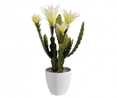 Sztuczny kwiat w doniczce Cactus