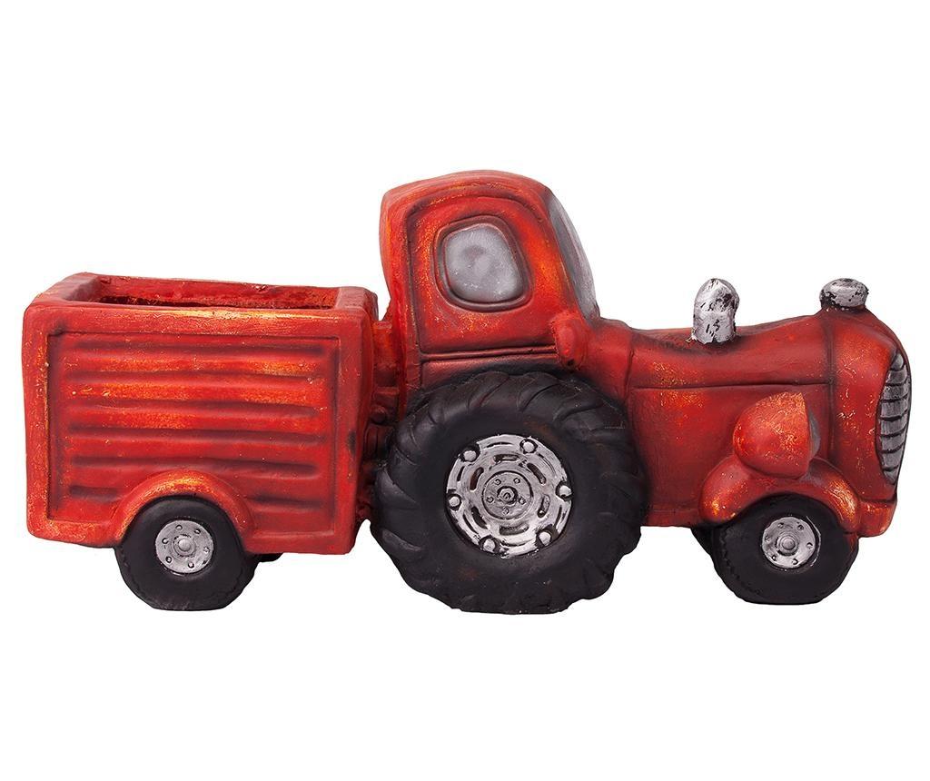 Suport pentru ghiveci Vintage Tractor Cart