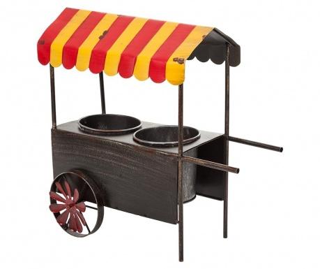 Stojalo za cvetlični lonec Vintage Cart Two