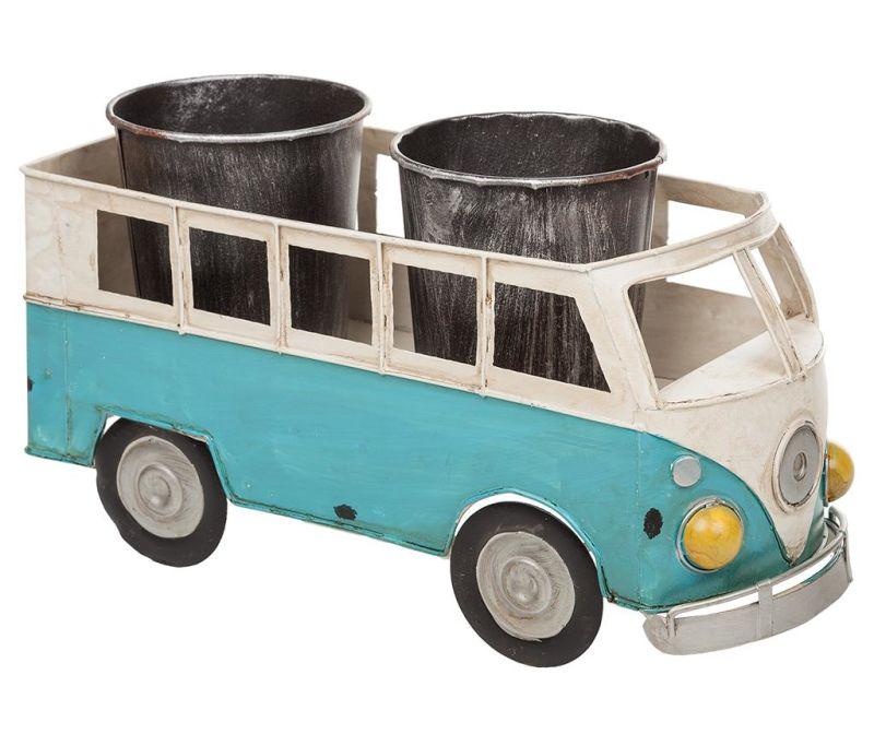 Stojalo za cvetlični lonec Vintage Van