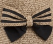 Palarie dama Striped Bow