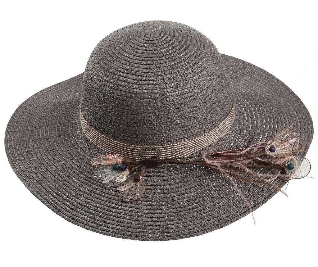 Ženski šešir Garden Feathers Grey