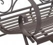 Venkovní houpací židle Alice Black