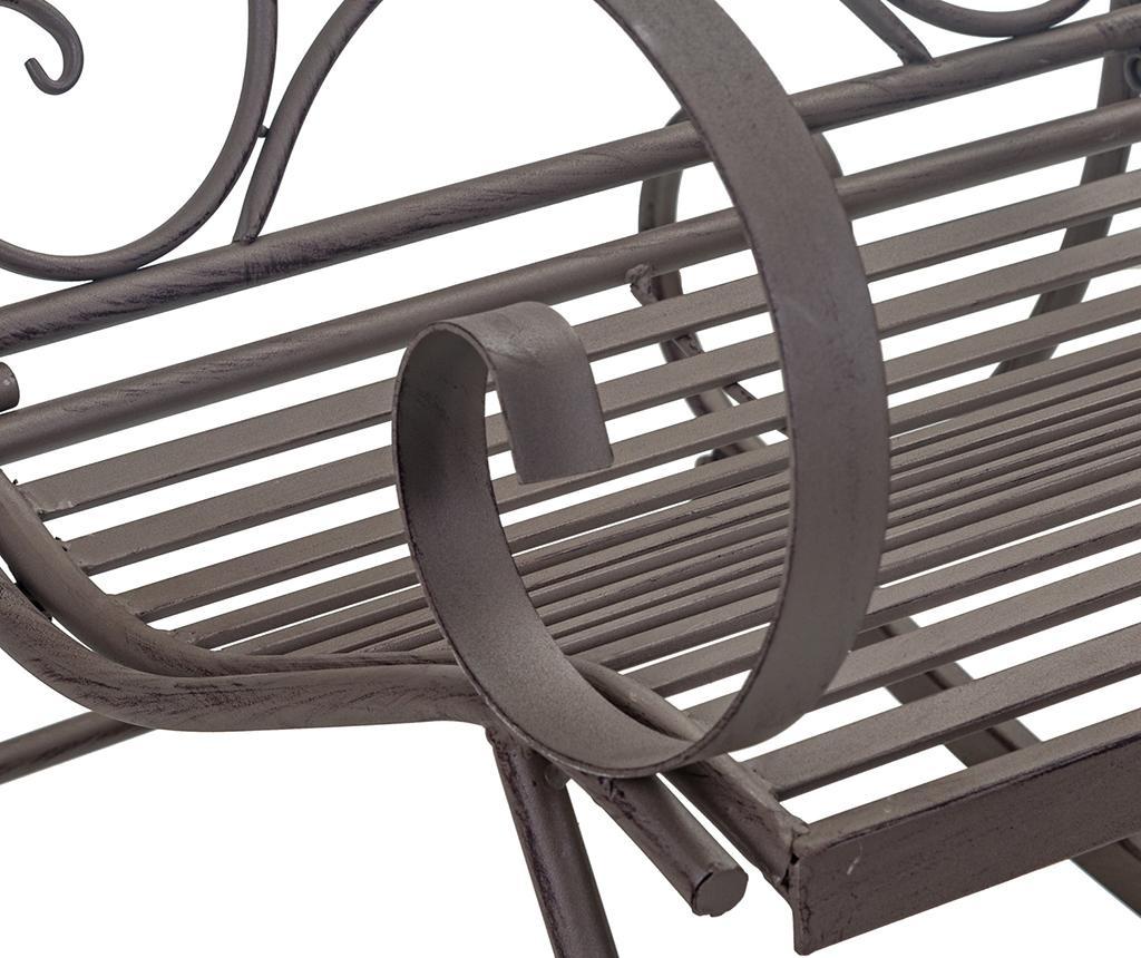 Stolica za ljuljanje za vanjski prostor Alice Black