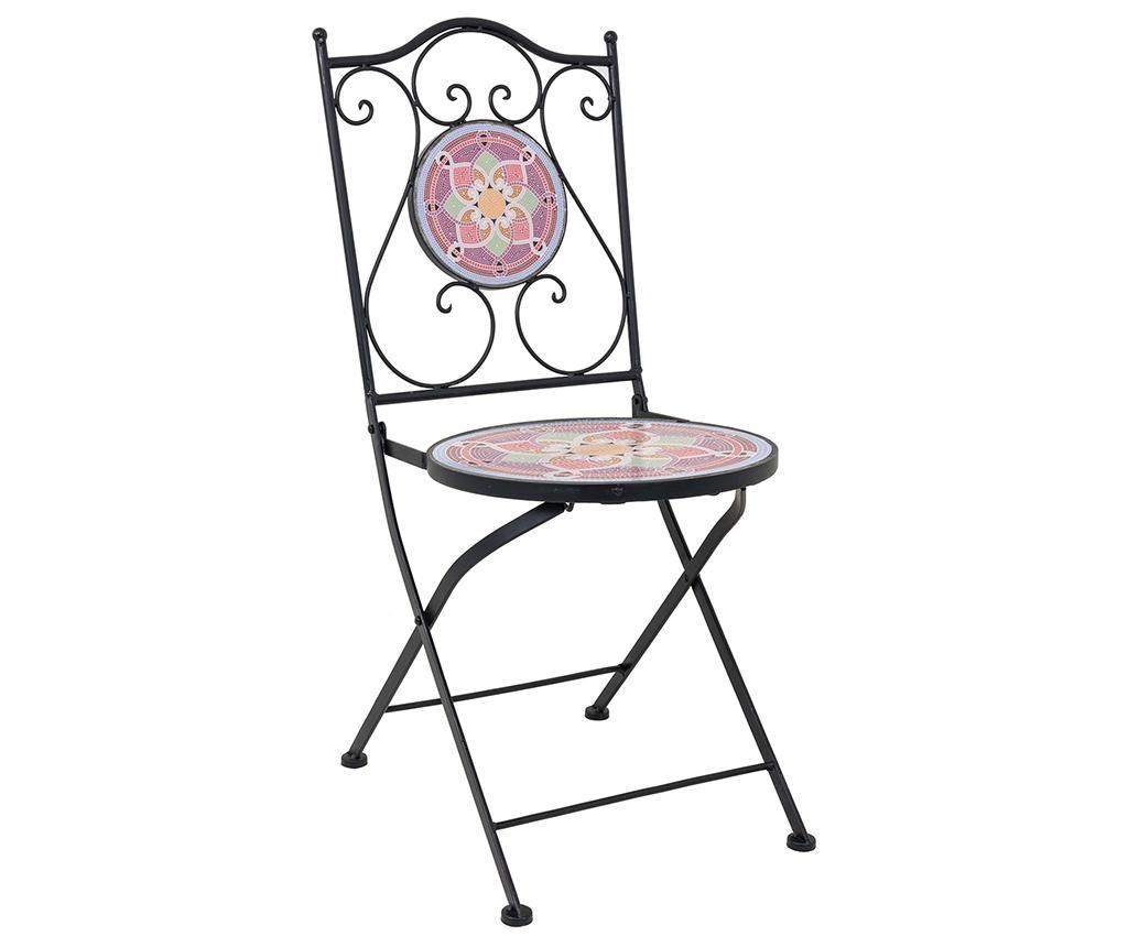 Set masa si 2 scaune pentru exterior Mosaic Petals