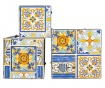 Sada 3 stojanů na květináče Mosaic Multi