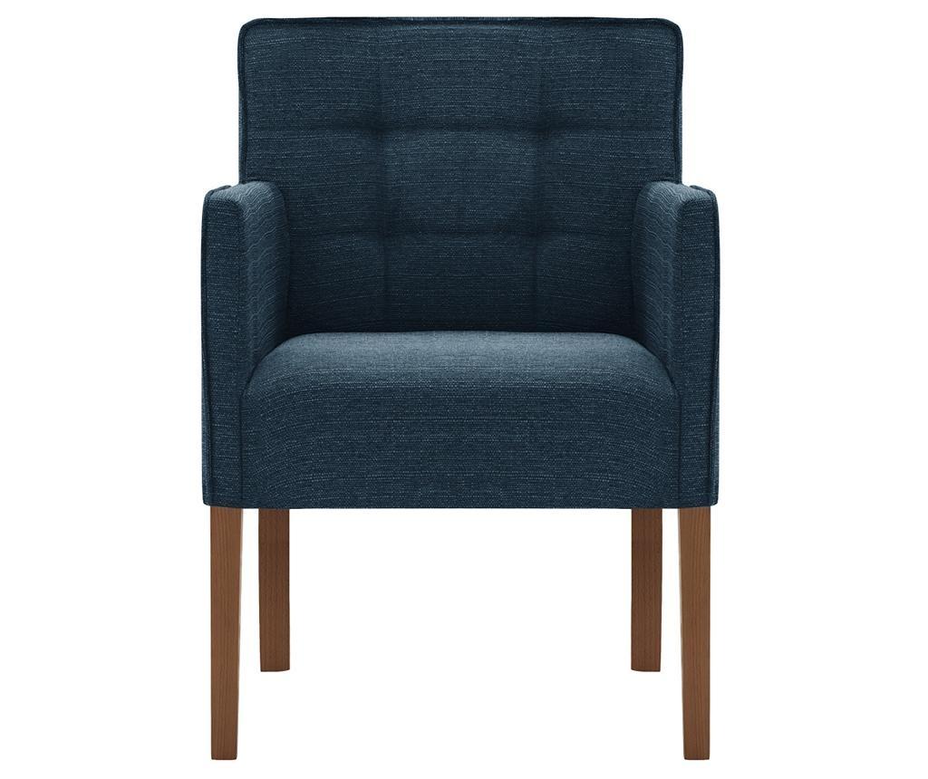 Set 2 scaune Freesia Brown & Dark Turquoise