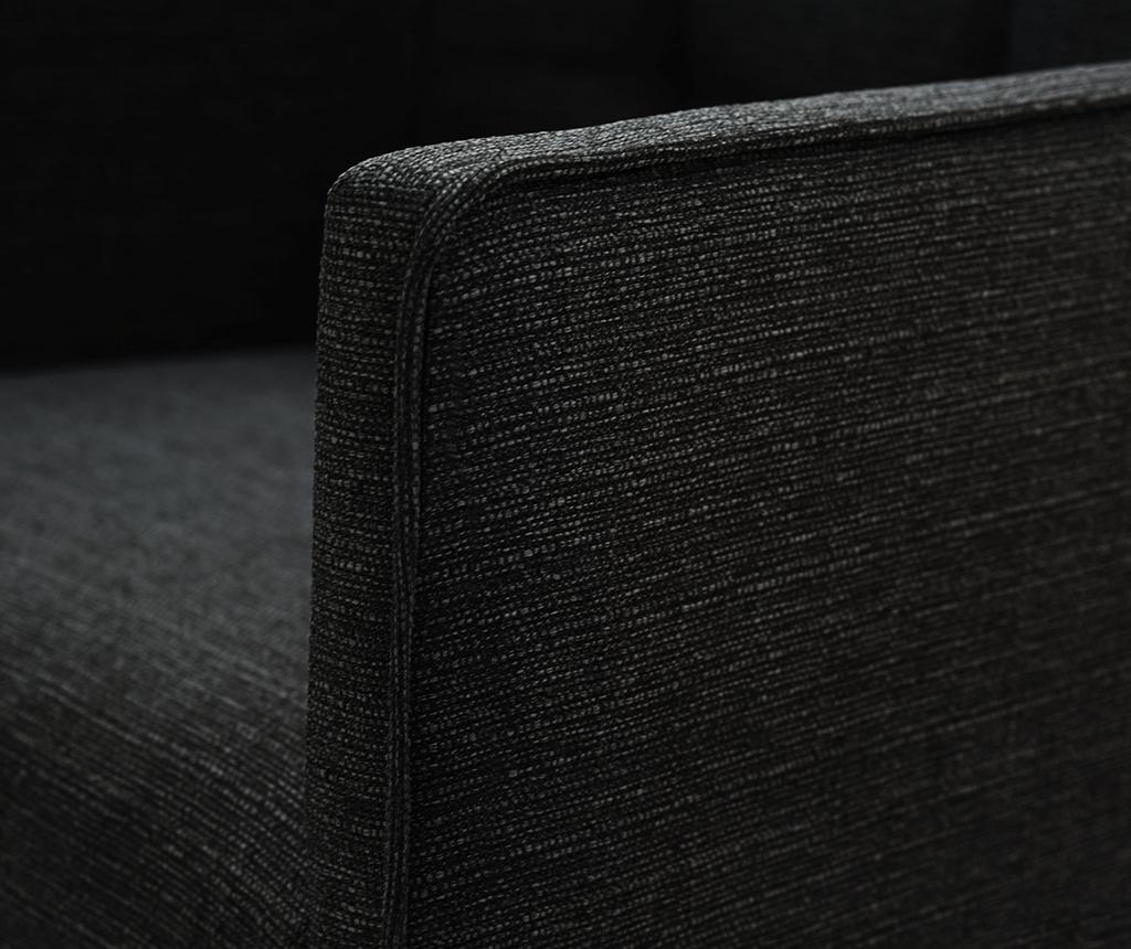 Set 2 scaune Freesia Brown & Black