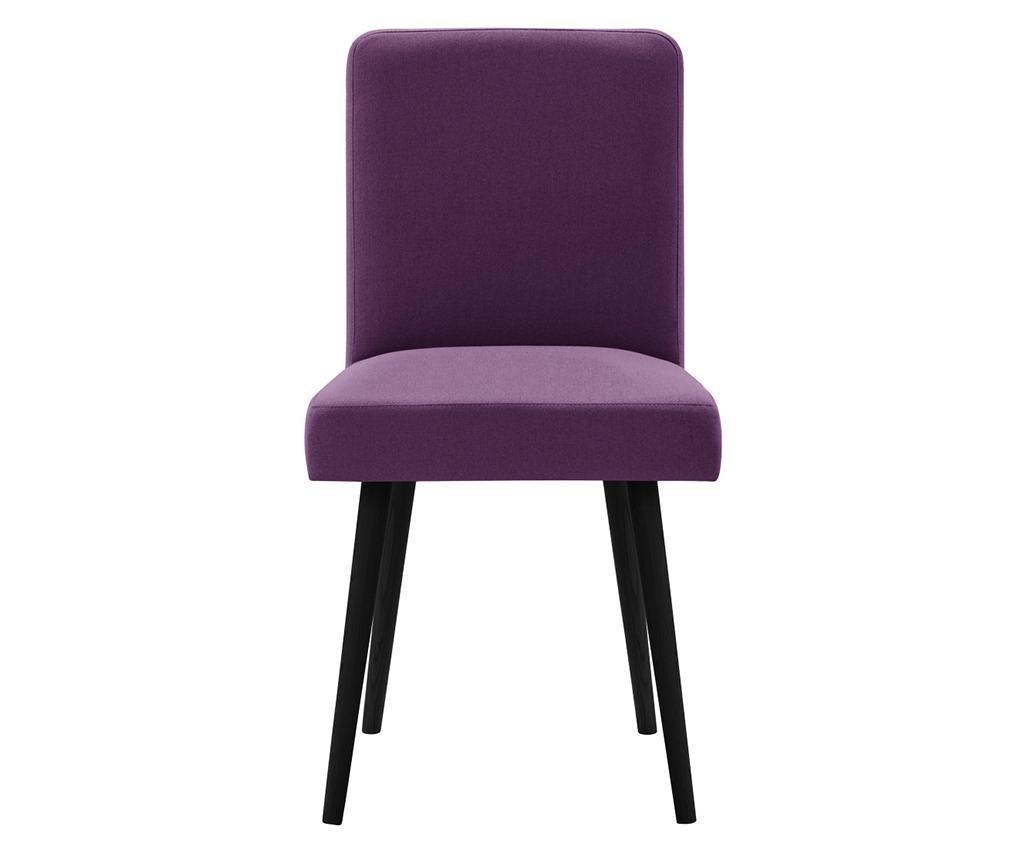 Set 2 scaune Fragrance Black & Purple
