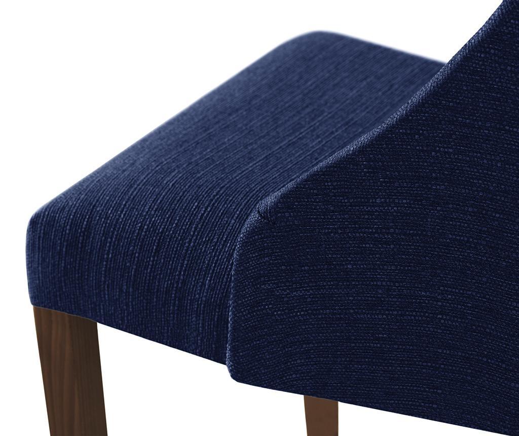 Set 4 scaune Absolu Brown & Ultramarine