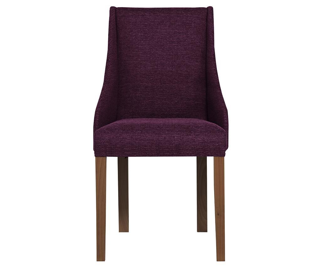 Set 4 scaune Absolu Brown & Purple