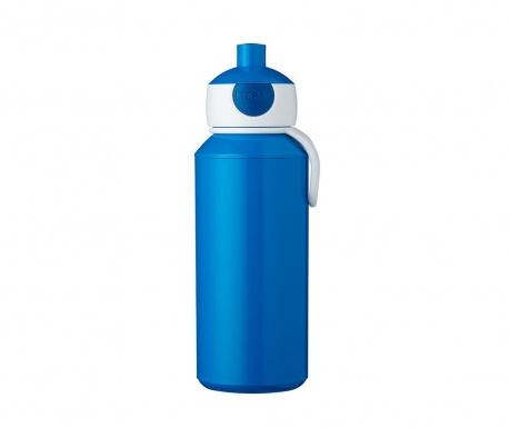 Αθλητικό μπουκάλι Pop-up Blue 400 ml