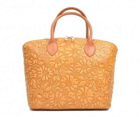 Τσάντα Rina Cognac