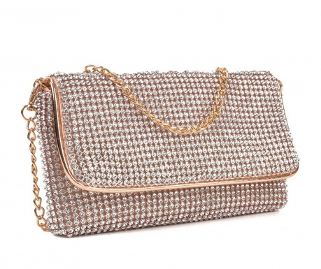 Virginia Champagne Clutch táska
