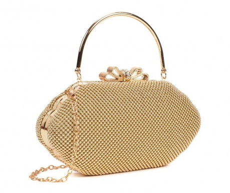 Kyan Gold Clutch táska