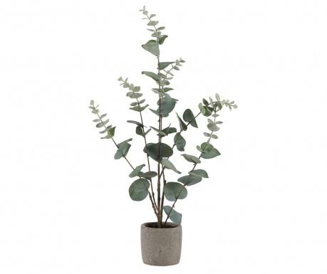 Sztuczna roślina w doniczce Eucalyptus