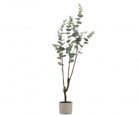Umelá rastlina v kvetináči Eucalyptus Tall
