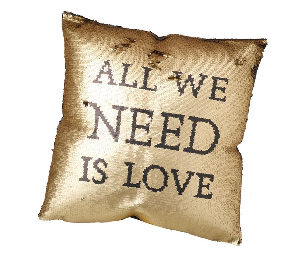 Ukrasni jastuk All We Need Is Love 45x45 cm