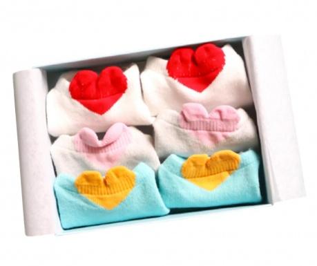 Комплект 3 чифта детски чорапи Be lovely Multi