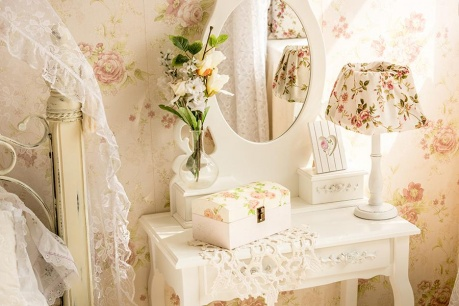 Romantikus dekoráció