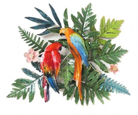 Nastěnná dekorace Parrots
