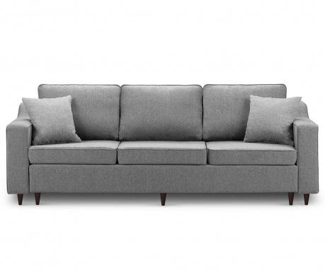 Kauč trosjed na razvlačenje Narcisse Dark Grey