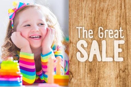 The Great Sale: Dziecięcy świat