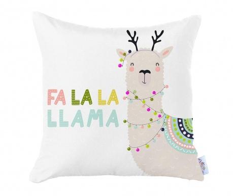 Fata de perna Singing Llama 35x35 cm