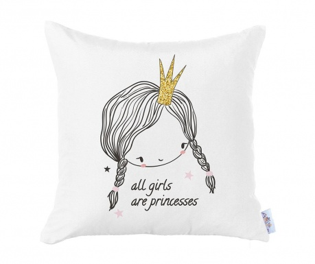 Fata de perna Girls Are Princesses 35x35 cm