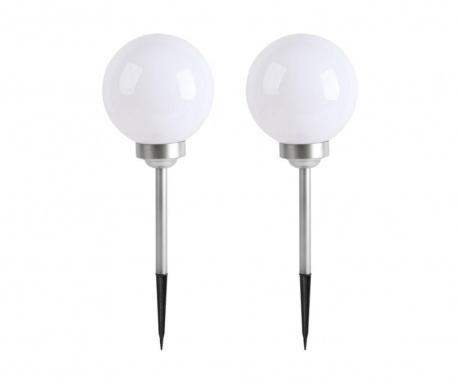Set 2 solarnih svetilk Moony S