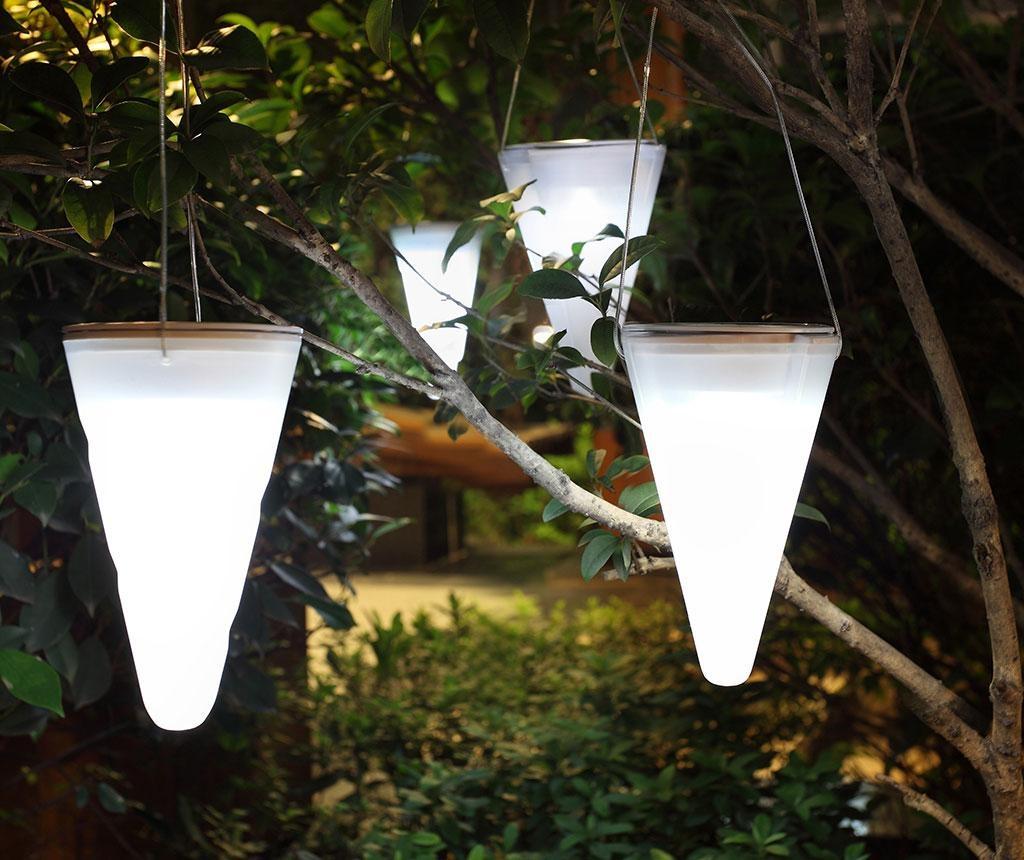 Lampa solara suspendabila Hang Cream