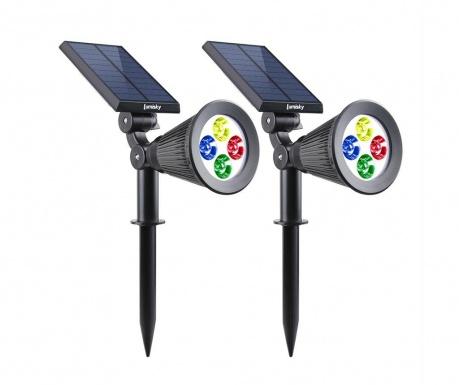 Set 2 solarnih svetilk Spiky