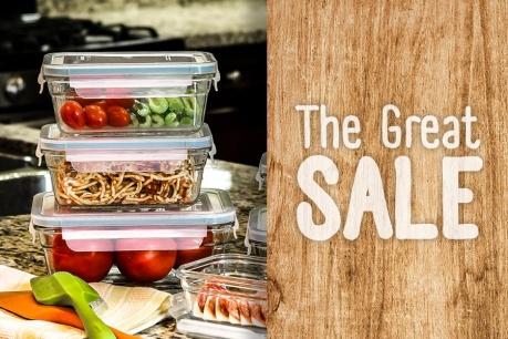 The Great Sale: Świeżość Glasslock