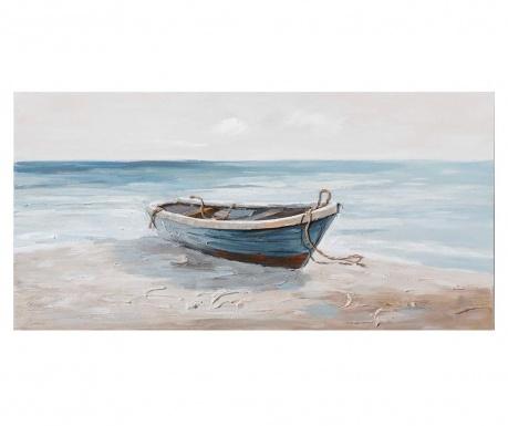 Tablou Dock Boat 70x140 cm