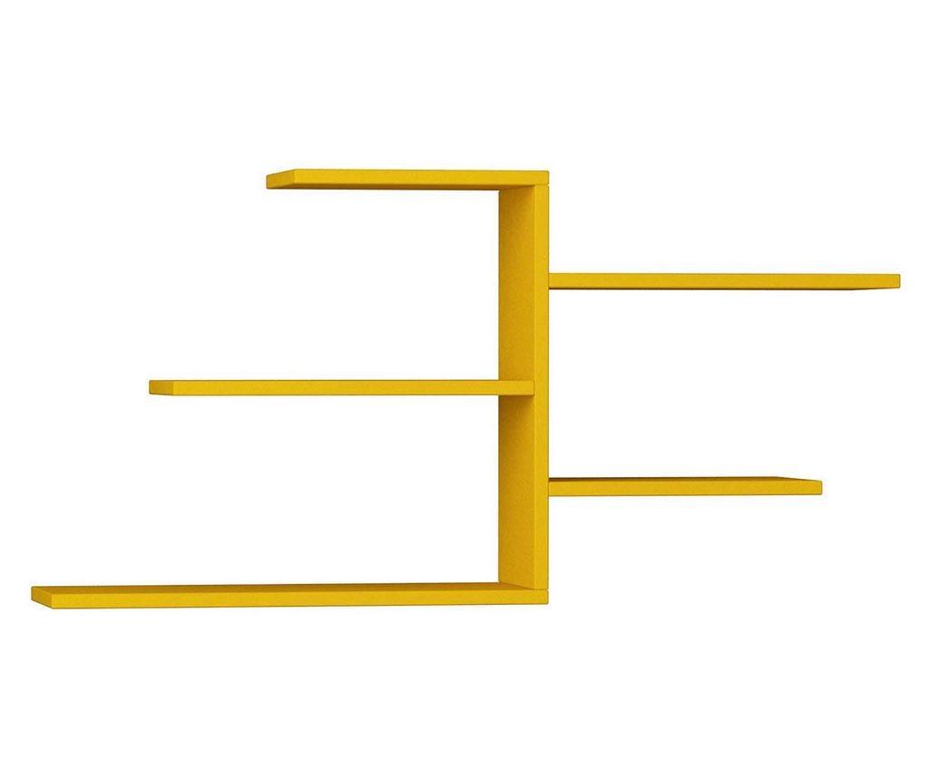 Raft de perete Madele Mustard