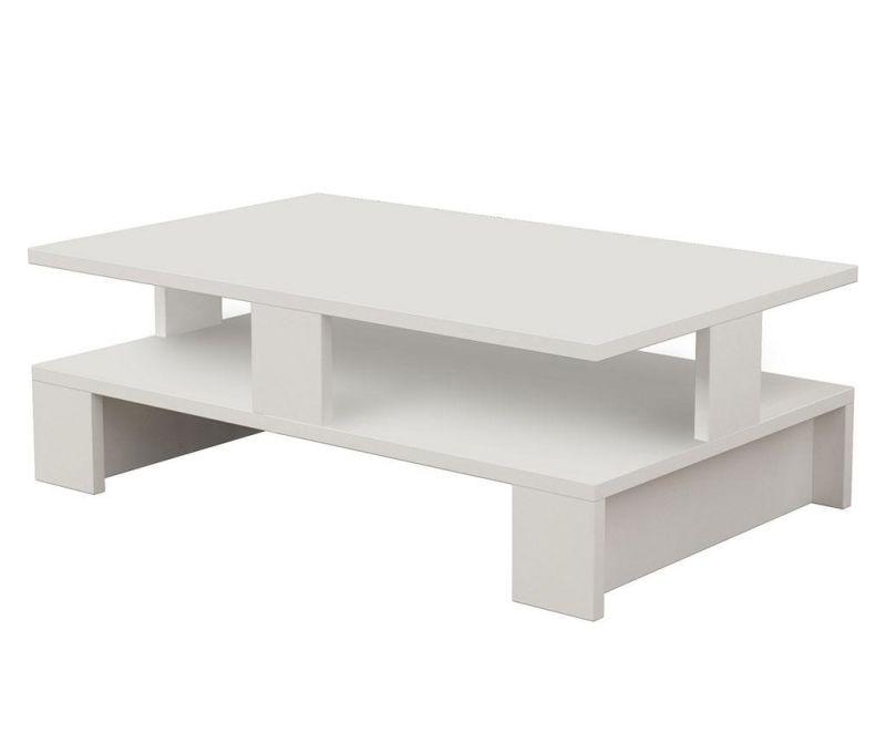 Geometric White Dohányzóasztal