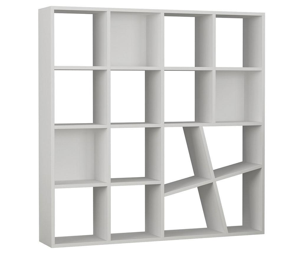 Knjižni regal Fusion White