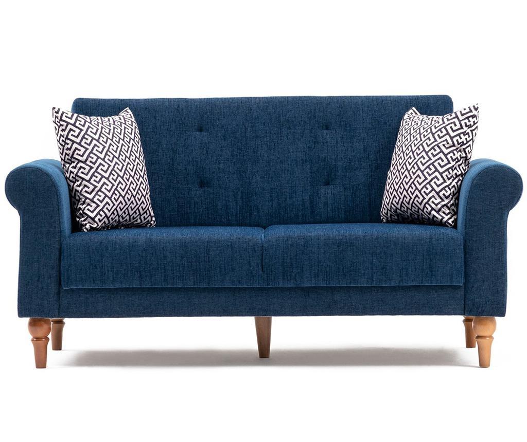 Madona Dark Blue Kétszemélyes kihúzható kanapé