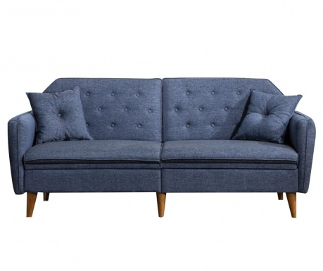 Canapea extensibila 3 locuri Susan Dark Blue