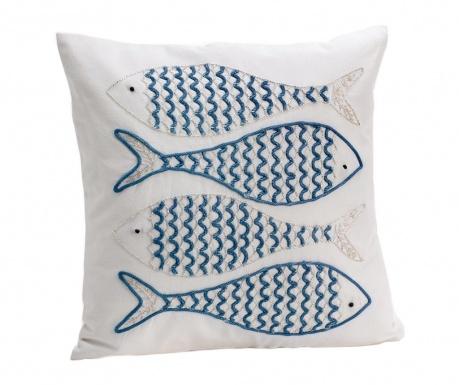 Perna decorativa Fishes 45x45 cm