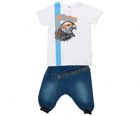 Sada tričko a nohavice pre deti Eagle Jean Baggy
