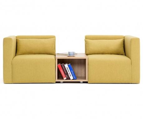 Canapea modulara 2 locuri Plus Yellow