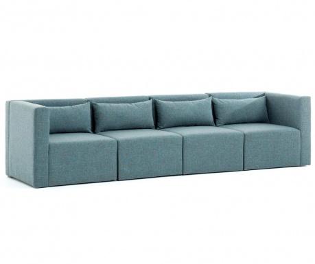Canapea modulara 4 locuri Plus Blue