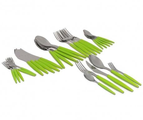 Set tacamuri 30 piese Polish Green